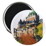 Frontenac Castle Quebec City Magnet