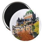 Frontenac Castle Quebec City Magnet