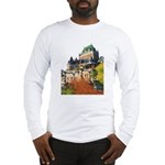 Frontenac Castle Quebec City Long Sleeve T-Shirt