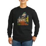 Frontenac Castle Quebec City Long Sleeve Dark T-Sh