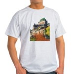 Frontenac Castle Quebec City Light T-Shirt
