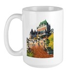 Frontenac Castle Quebec City Large Mug