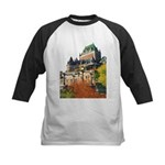 Frontenac Castle Quebec City Kids Baseball Jersey