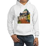 Frontenac Castle Quebec City Hooded Sweatshirt