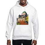 Frontenac Castle Quebec City Hooded Sweatshirt