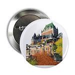 Frontenac Castle Quebec City Button