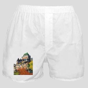 Frontenac Castle Quebec City Boxer Shorts