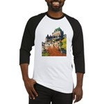 Frontenac Castle Quebec City Baseball Jersey