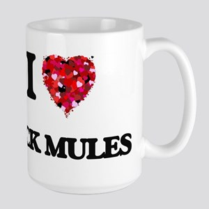 I love Pack Mules Mugs
