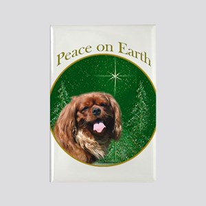 English Toy Peace Rectangle Magnet