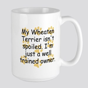 Well Trained Wheaten Terrier Owner Mugs