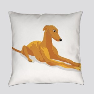 greyhound Everyday Pillow