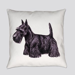 Scottish Terrier Everyday Pillow