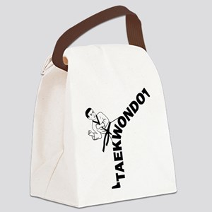 Taekwondo Kicker Canvas Lunch Bag