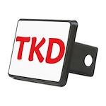 TKD Rectangular Hitch Cover