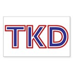 American TKD Stickers 10 pack