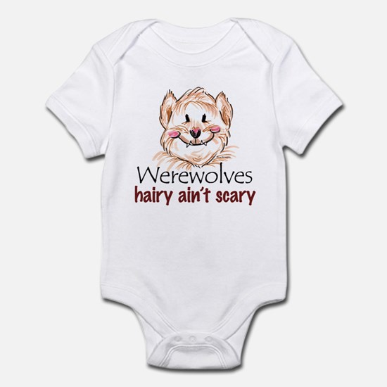hairy ain't scary Infant Bodysuit