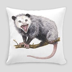 Opossum Everyday Pillow