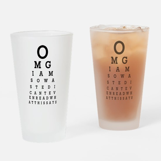 OMG Drinking Glass