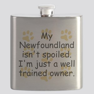 Well Trained Newfoundland Owner Flask