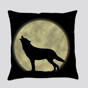wolf Everyday Pillow