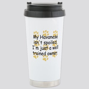 Well Trained Havanese Owner Travel Mug