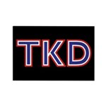 American TKD Black Magnets 10 pack