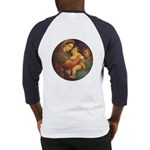 Madonna of the Chair by Raphael Baseball Jersey