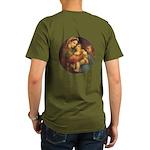 Madonna of the Chair Organic Men's T-Shirt (dark)