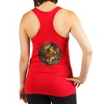 Madonna of the Chair by Raphael Racerback Tank Top