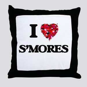 I love S'Mores Throw Pillow