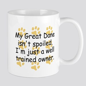 Well Trained Great Dane Owner Mugs