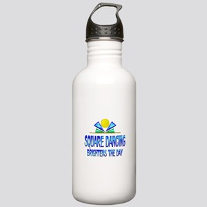 Square Dancing Brighte Stainless Water Bottle 1.0L