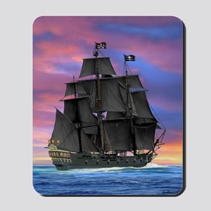 Black Sails of the Caribbean Mousepad