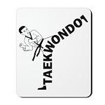 Taekwondo Kicker Mousepad