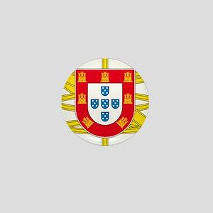 Portugal Brasão Mini Button (10 pack)