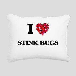 I love Stink Bugs Rectangular Canvas Pillow