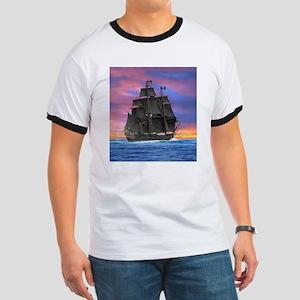 Black Sails of the Caribbean T-Shirt