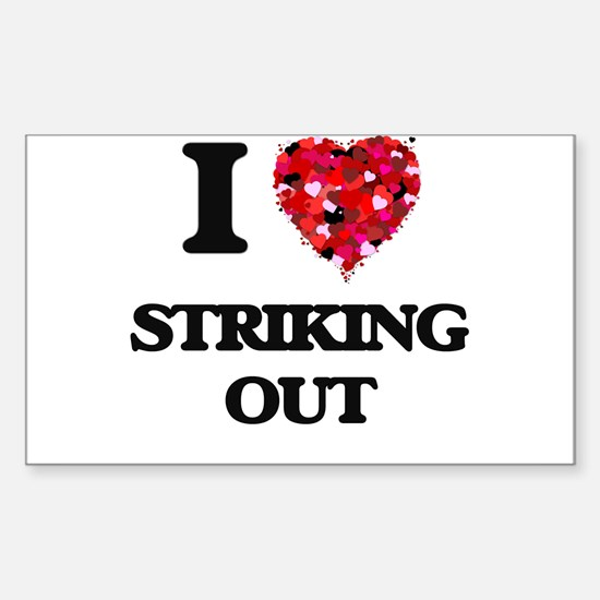 I love Striking Out Decal
