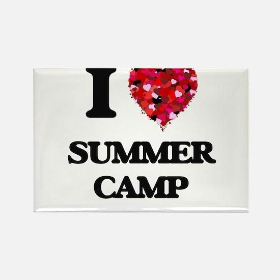 I love Summer Camp Magnets