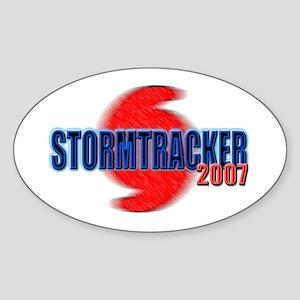 2007 Storm Tracker Oval Sticker