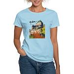 Frontenac Castle with Signatu Women's Light T-Shir