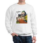 Frontenac Castle with Signatu Sweatshirt