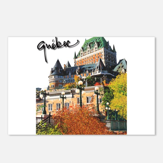 Frontenac Castle with Signatu Postcards (Package o