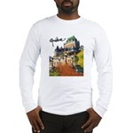 Frontenac Castle with Signatu Long Sleeve T-Shirt