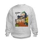 Frontenac Castle with Signatu Kids Sweatshirt
