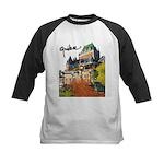 Frontenac Castle with Signatu Kids Baseball Jersey