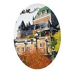 Frontenac Castle with Signatu Oval Ornament