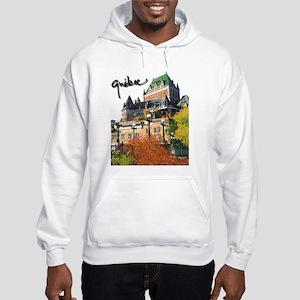 Frontenac Castle with Signatu Hooded Sweatshirt
