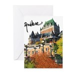 Frontenac Castle with Signatu Greeting Cards (Pk o